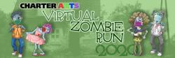 Charter Arts Foundation Virtual Zombie Fun Run