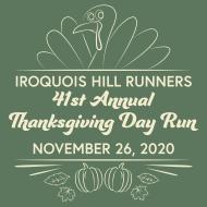 Iroquois Hill Runners Thanksgiving Day Run