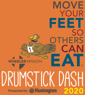 Wheeler Mission Drumstick Dash 2020 Logo