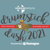 Wheeler Mission Drumstick Dash 2021 Logo