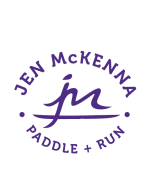 Jen McKenna Paddle and Run