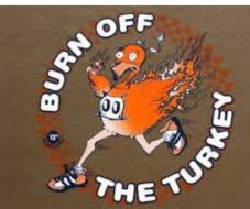 Run off the Turkey Black Friday 5k race and 1 mile fun run