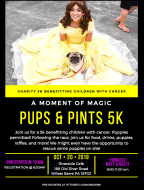 A Moment of Magic Pups and Pints 5k