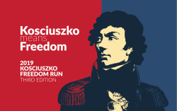Kosciuszko Freedom Run The Race 4 Recovery is a Running race in Rockville, Maryland consisting of a 5K.