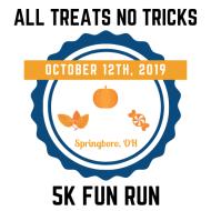All Treats No Tricks Springboro 5k Fun Run
