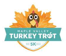 Maple Valley Turkey Trot - Virtual 5K Run/Walk