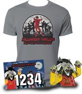 'HALLOWEEN THRILLER 5K/10K/13.1' VIRTUAL RUN