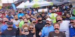 Movember brew run + axe throwing party w/Landlocked Ales