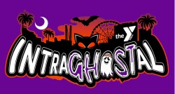 YMCA IntraGHOSTal Ghost Hunt Challenge Logo