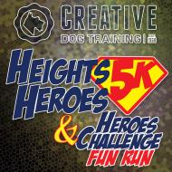 Heights Heroes 5k and Heroes Challenge Fun Run