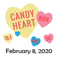 Candy Heart Run - Half Marathon, 10K, 5K