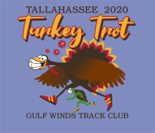 Tallahassee Turkey Trot Virtual 15K/10K/5K/1Mile