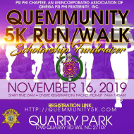 The Que-mmunity 5k Run/Walk