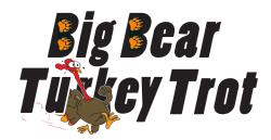 Big Bear Turkey Trot - 3, 6, 9 Miles & Half Marathon