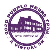 "The Purple Heart Trail Virtual 5k ""Battle of the Bulge"""