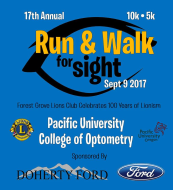 Forest Grove Lions Club Run & Walk for Sight