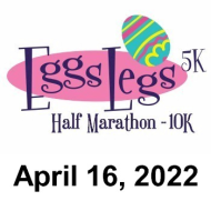 Eggs Legs Half Marathon, 10K, 5K