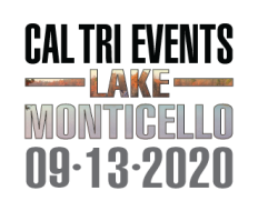 2020 Cal Tri Events Lake Monticello - 9.13.20