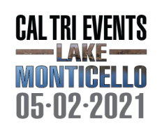 2021 Cal Tri Events Lake Monticello - 5.2.21