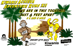Kiwanis - Achieva VIRTUAL and LIVE Adventure Runs