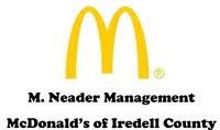 M. Neader Management McDonald's of Iredell County