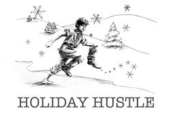 Holiday Hustle 5K(ish) Fun Run