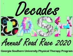 Decades Dash - Georgia Southern Physical Therapy Road Race 2020