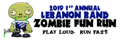 2019 Lebanon Band Zombie 5k Fun Run & Fall Fest