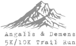 Angalls & Demens 5K/10K Trail Run Logo