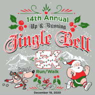 UP AND RUNNING 14th ANNUAL Jingle Bell 5K Run/walk