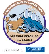 10TH Annual Surfside Beach Turkey Trot