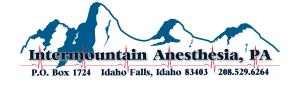 Intermountain Anesthesia