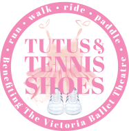 VBT's Tutus & Tennis Shoes- Run, Walk, Ride, Paddle