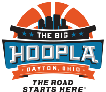 The Big Hoopla 4 Miler Logo