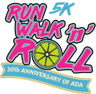 NEW DATE February 27, 2021 due to  COVID -19:  Inaugural Run, Walk 'n' Roll 5k:                                                                                            Celebrating the 30th Anniversary of the signing of the Americans' with Disabilities Act