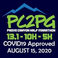 Provo Canyon Half Marathon - PC2PG