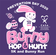 **Postponed**  Prevention Day Bunny Hop & Hunt 5K