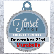 Tinsel Trot Holiday 5k race and 1 mile fun run