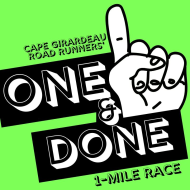 Cape Girardeau ONE & DONE 1-mile Race
