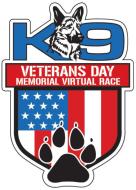 K9 Veterans Day Memorial Virtual Race
