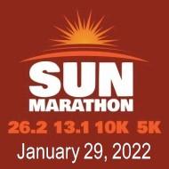 Sun Marathon - 26.2 - 13.1 - 10K - 5K