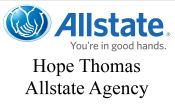 Hope Thomas Allstate Agency