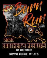 Brother's Keepers Motorcycle Club Burn Run Trail Run