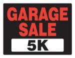 Garage Sale 5K