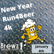 New Years Run4Beer 4k Race - Brewz Bartram Park