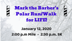 Mark the Barber's Polar Run/Walk for Life