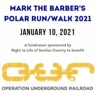 Mark the Barber's Polar Run/Walk for Life