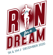 Virtual Run for a Dream 5K and 1M Fun Run