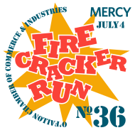 36th Annual O'Fallon Firecracker Virtual 5k/10k and Fun Run