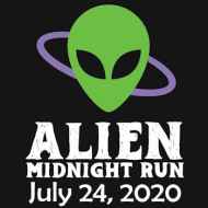 Alien Midnight Half Marathon, 10K, 5K